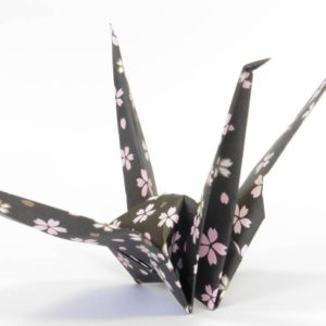 Origami Grue pour mobile