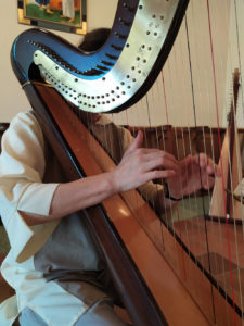 Abbaye de Sainte Lioba-Harpe-Atelier de reliure
