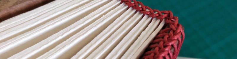 Tranchefile copte - Atelier de reliure